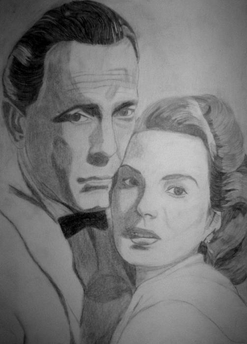 Ingrid Bergman, Humphrey Bogart por -Jeanne